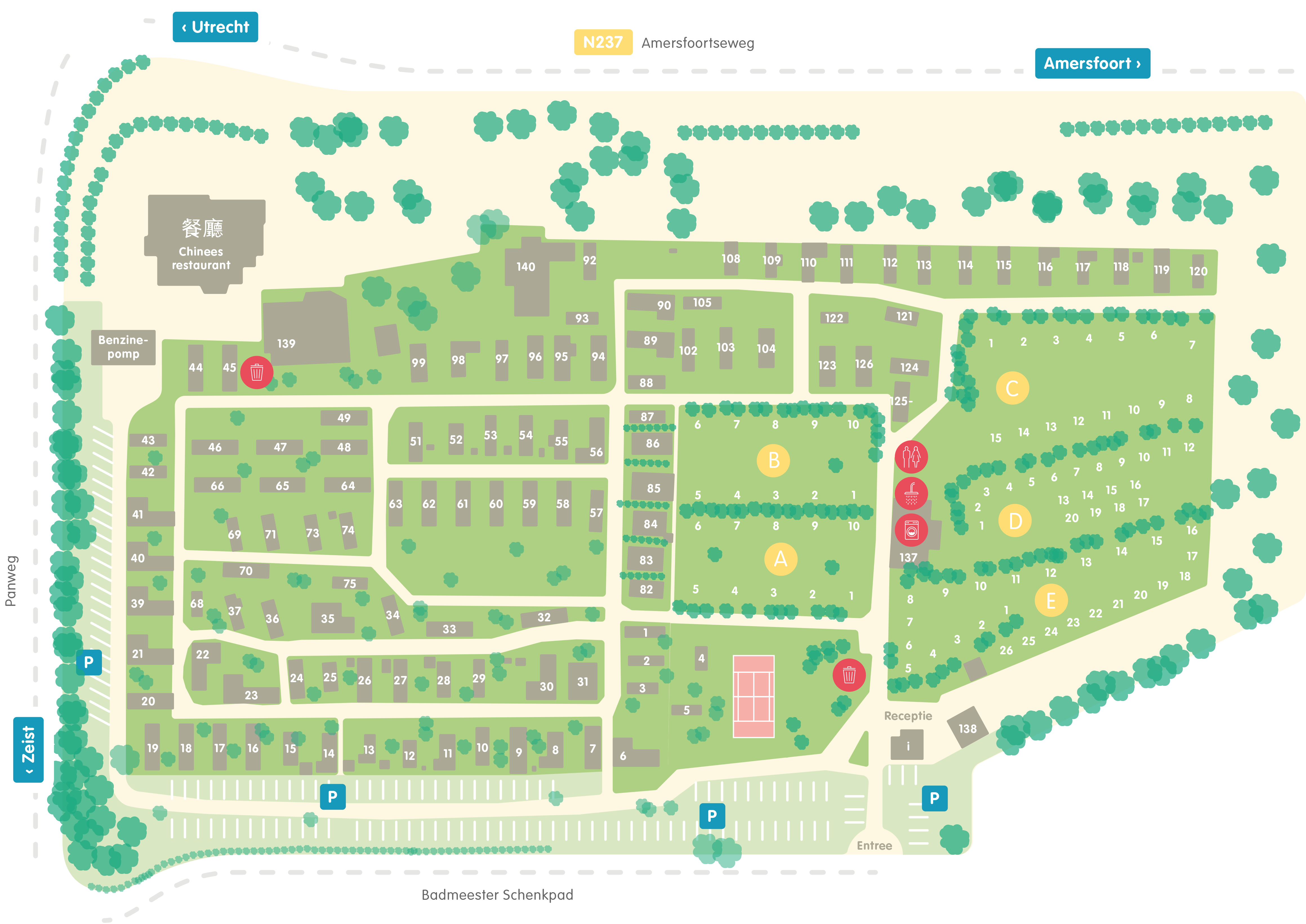 plattegrond Dijnselburg